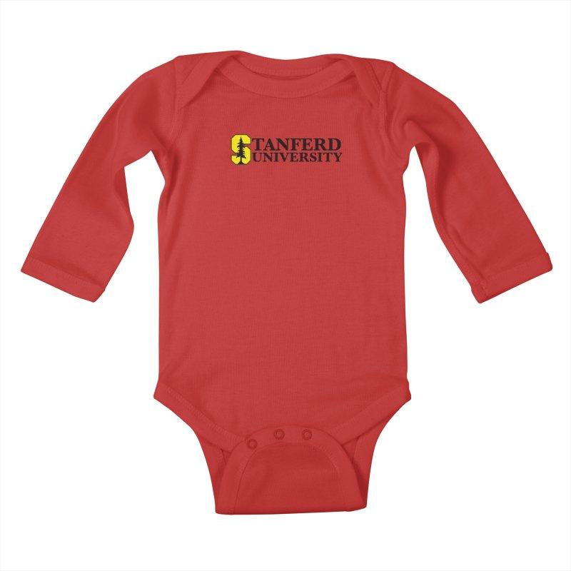 Stanferd Kids Baby Longsleeve Bodysuit by The David Feldman Show Official Merch Store