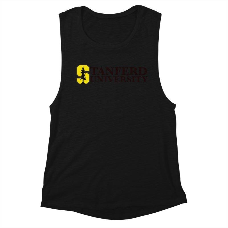 Stanferd Women's Muscle Tank by The David Feldman Show Official Merch Store