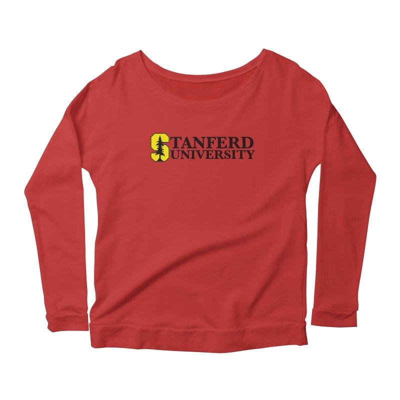 Stanferd Women's Scoop Neck Longsleeve T-Shirt by The David Feldman Show Official Merch Store