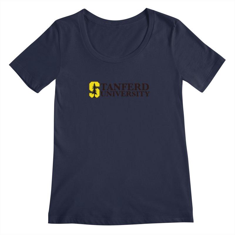 Stanferd Women's Regular Scoop Neck by The David Feldman Show Official Merch Store