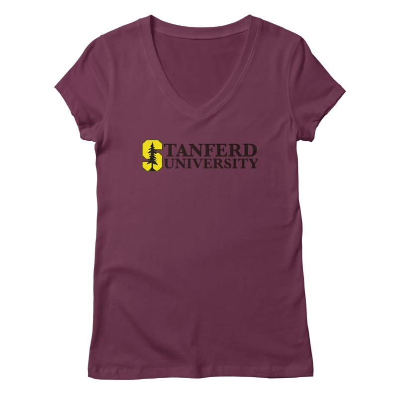 Stanferd Women's Regular V-Neck by The David Feldman Show Official Merch Store