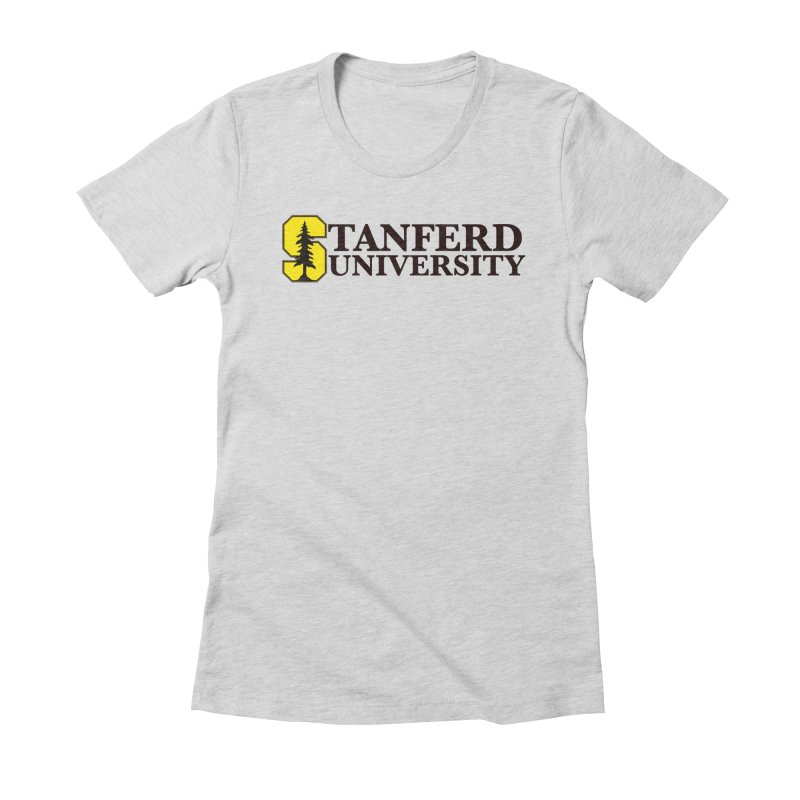 Stanferd Women's Fitted T-Shirt by The David Feldman Show Official Merch Store