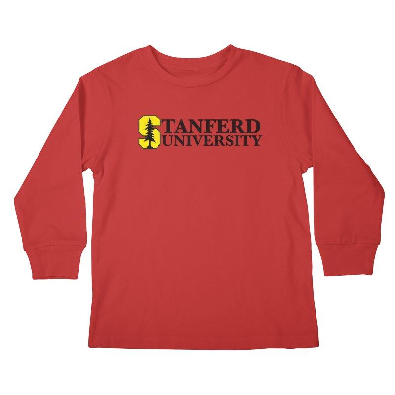 Stanferd Kids Longsleeve T-Shirt by The David Feldman Show Official Merch Store