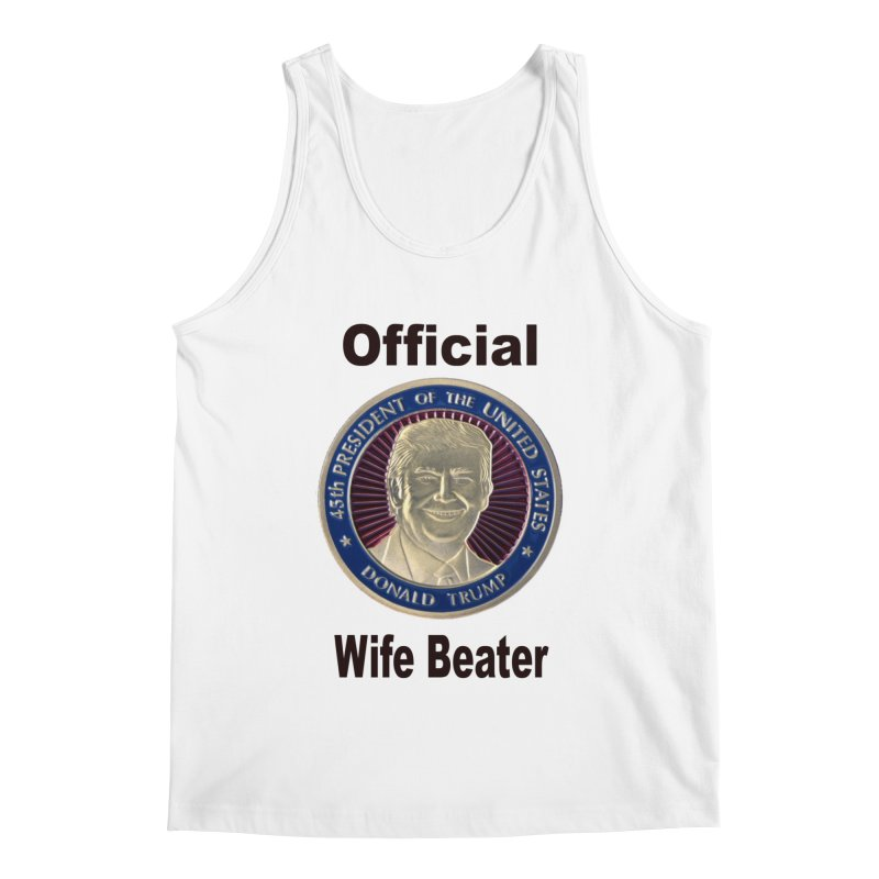 Wife Beater Men's Regular Tank by The David Feldman Show Official Merch Store