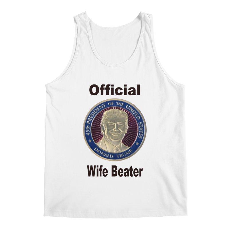 Wife Beater Men's Tank by The David Feldman Show Official Merch Store