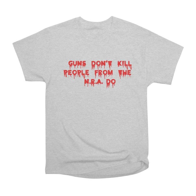 Guns Don't Kill Women's Heavyweight Unisex T-Shirt by The David Feldman Show Official Merch Store