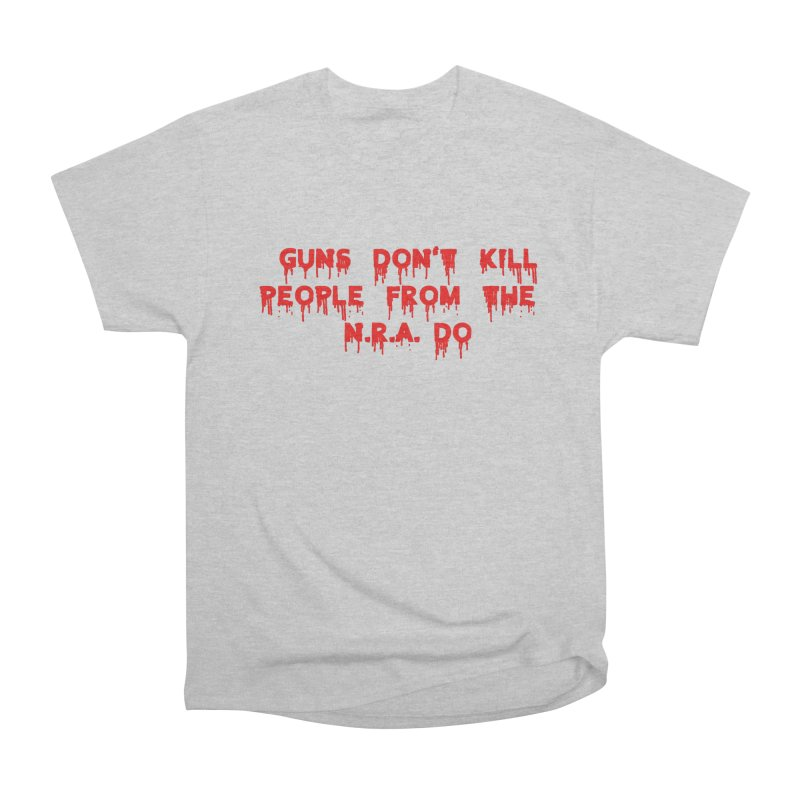 Guns Don't Kill Men's Heavyweight T-Shirt by The David Feldman Show Official Merch Store