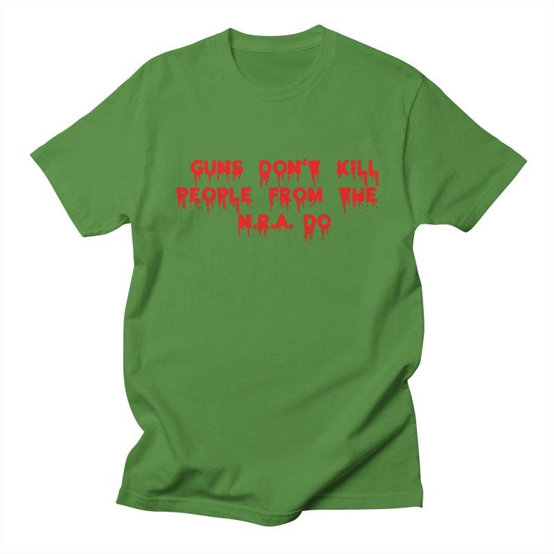 Guns Don't Kill Men's Regular T-Shirt by The David Feldman Show Official Merch Store