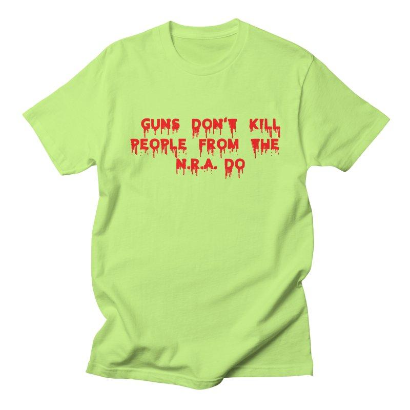 Guns Don't Kill Men's T-Shirt by The David Feldman Show Official Merch Store