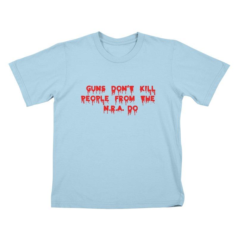 Guns Don't Kill Kids T-Shirt by The David Feldman Show Official Merch Store