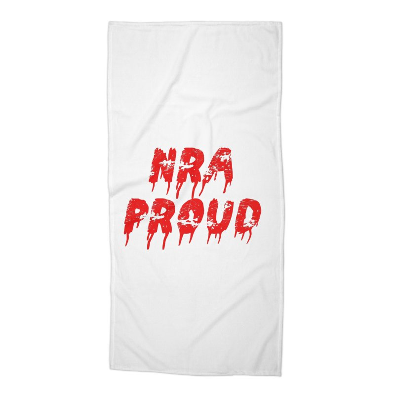 N.R.A. Proud Accessories Beach Towel by The David Feldman Show Official Merch Store