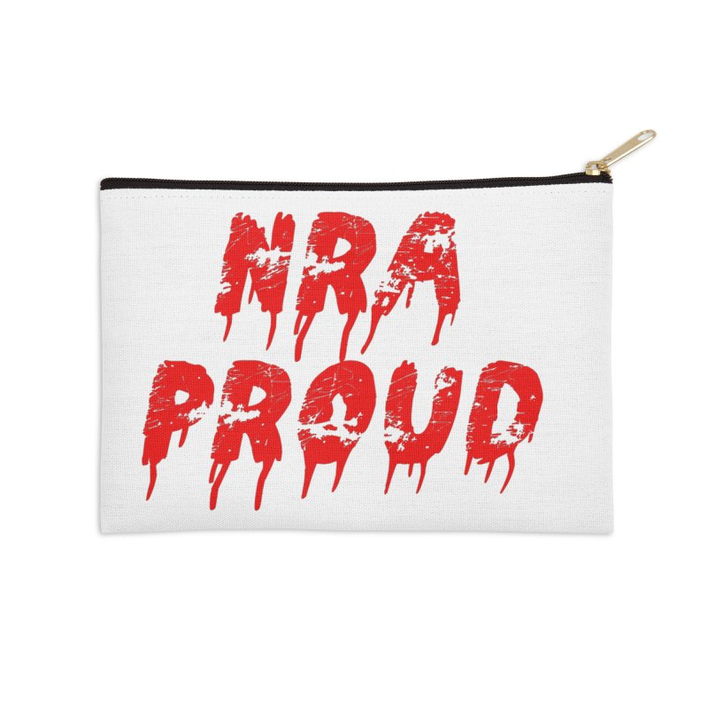 N.R.A. Proud Accessories Zip Pouch by The David Feldman Show Official Merch Store