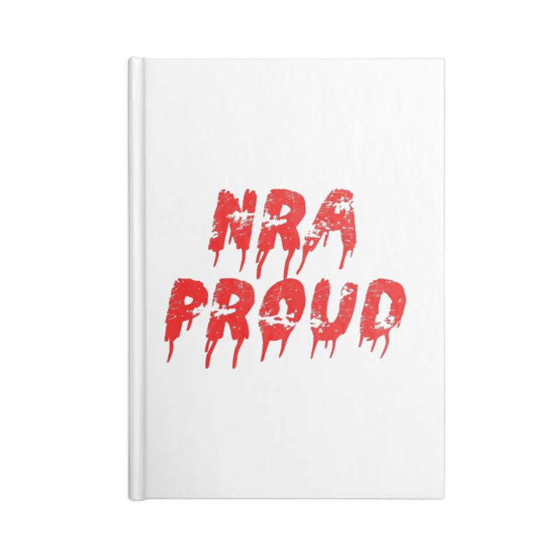 N.R.A. Proud Accessories Lined Journal Notebook by The David Feldman Show Official Merch Store