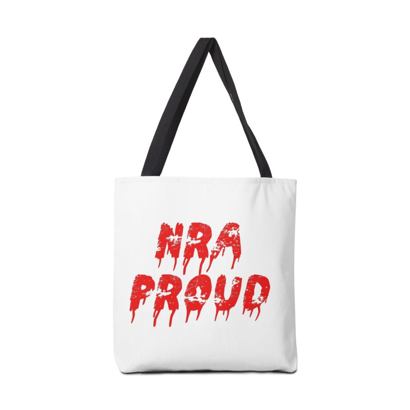 N.R.A. Proud Accessories Tote Bag Bag by The David Feldman Show Official Merch Store