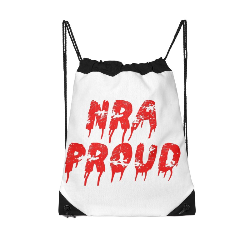 N.R.A. Proud Accessories Drawstring Bag Bag by The David Feldman Show Official Merch Store