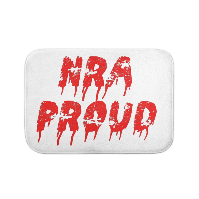 N.R.A. Proud Home Bath Mat by The David Feldman Show Official Merch Store