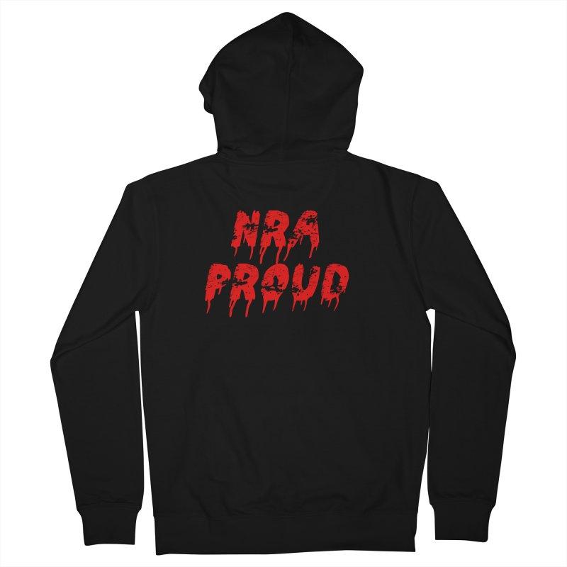 N.R.A. Proud Women's Zip-Up Hoody by The David Feldman Show Official Merch Store