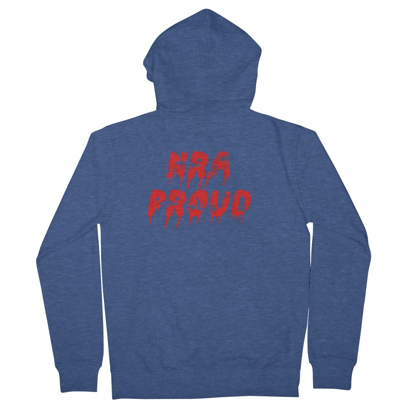 N.R.A. Proud Men's Zip-Up Hoody by The David Feldman Show Official Merch Store