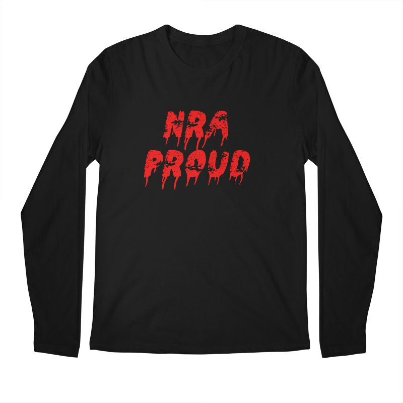 N.R.A. Proud Men's Regular Longsleeve T-Shirt by The David Feldman Show Official Merch Store