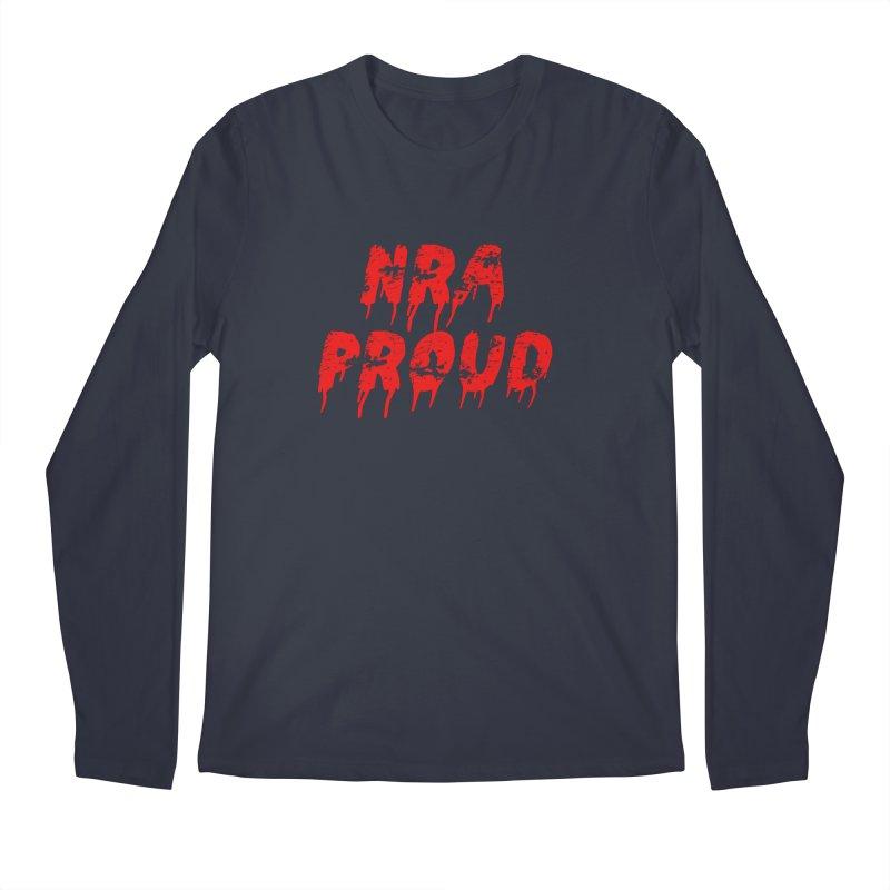 N.R.A. Proud Men's Regular Longsleeve T-Shirt by The David Feldman Show Official Merch Store