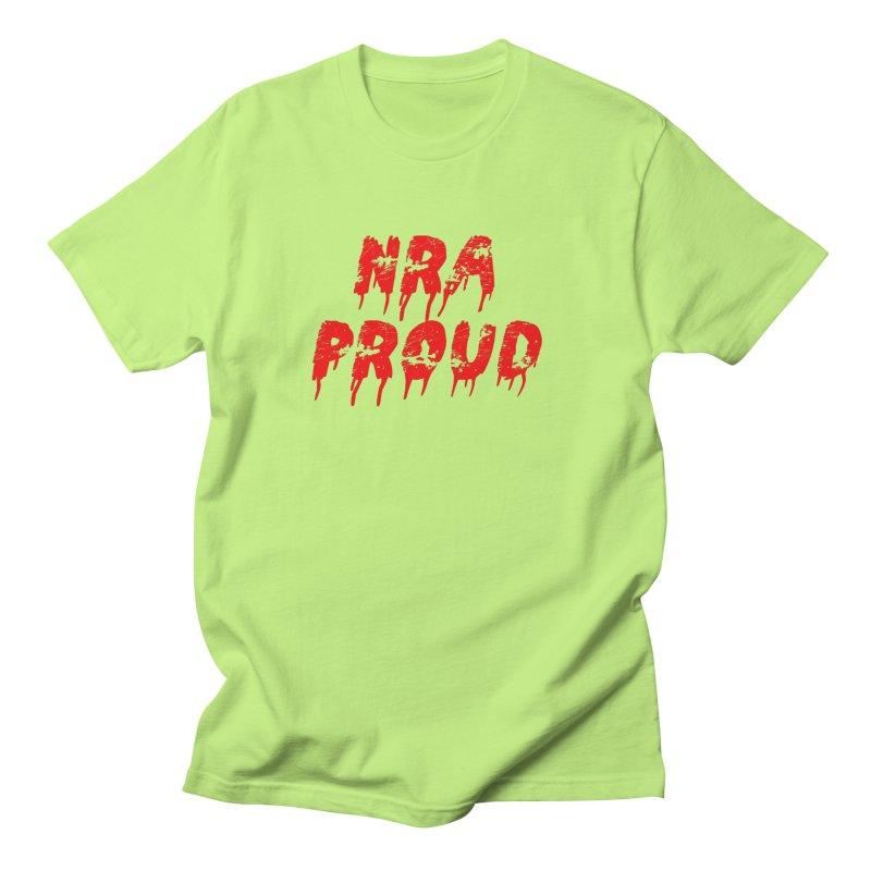 N.R.A. Proud Men's T-Shirt by The David Feldman Show Official Merch Store