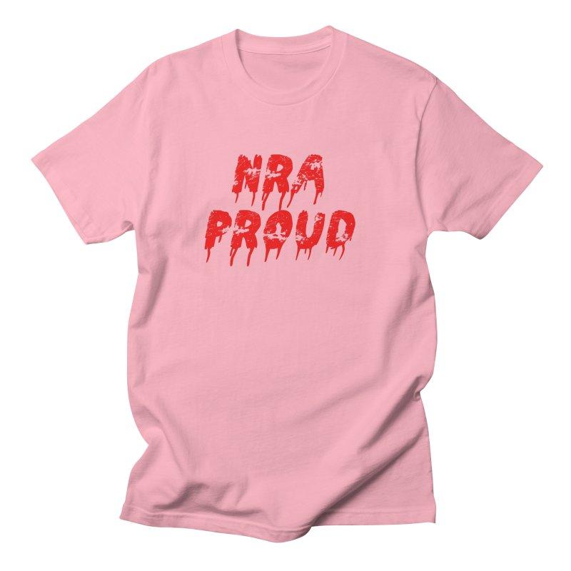 N.R.A. Proud Men's Regular T-Shirt by The David Feldman Show Official Merch Store