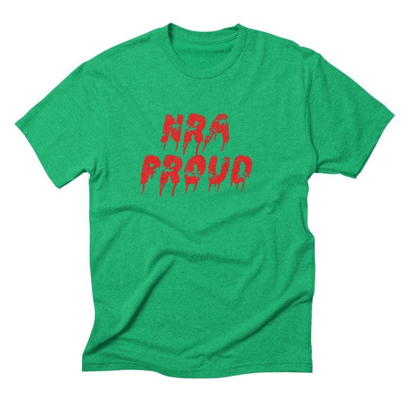 N.R.A. Proud Men's Triblend T-Shirt by The David Feldman Show Official Merch Store