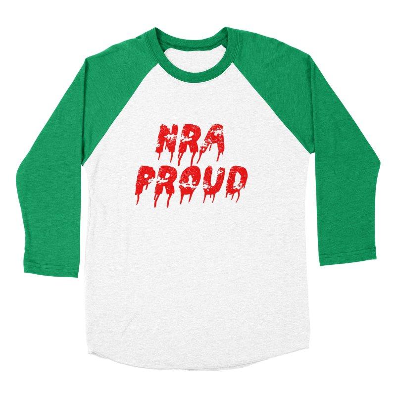 N.R.A. Proud Men's Baseball Triblend T-Shirt by The David Feldman Show Official Merch Store