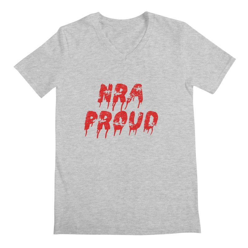 N.R.A. Proud Men's V-Neck by The David Feldman Show Official Merch Store