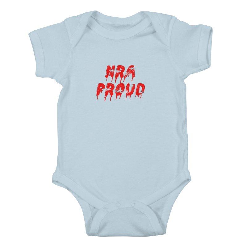 N.R.A. Proud Kids Baby Bodysuit by The David Feldman Show Official Merch Store