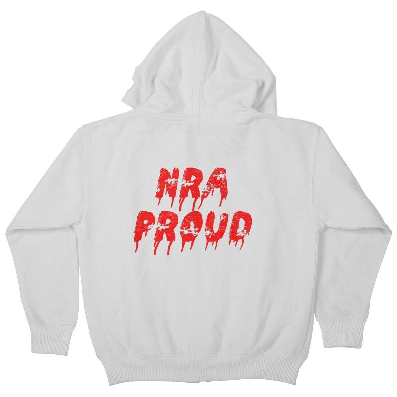 N.R.A. Proud Kids Zip-Up Hoody by The David Feldman Show Official Merch Store