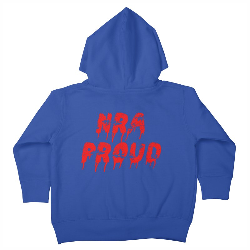 N.R.A. Proud Kids Toddler Zip-Up Hoody by The David Feldman Show Official Merch Store