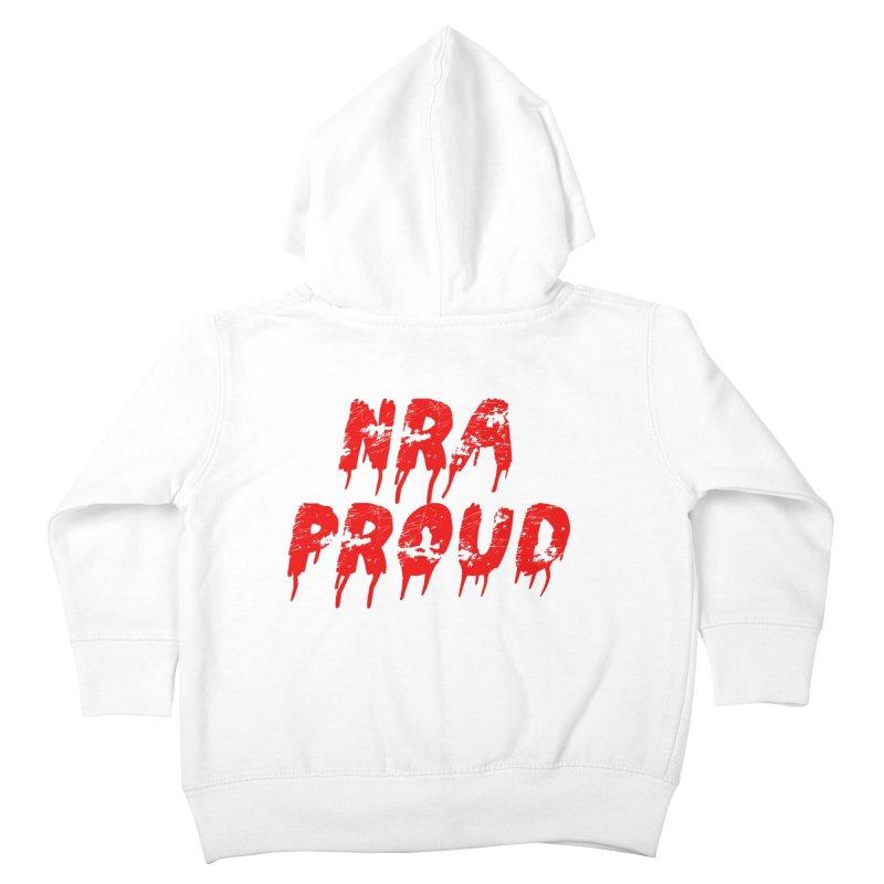 N.R.A. Proud Kids Toddler Zip-Up Hoody by The David Feldman Show Official Merch Store