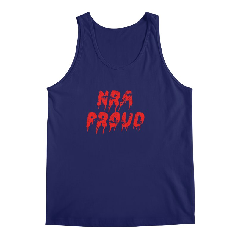 N.R.A. Proud Men's Regular Tank by The David Feldman Show Official Merch Store