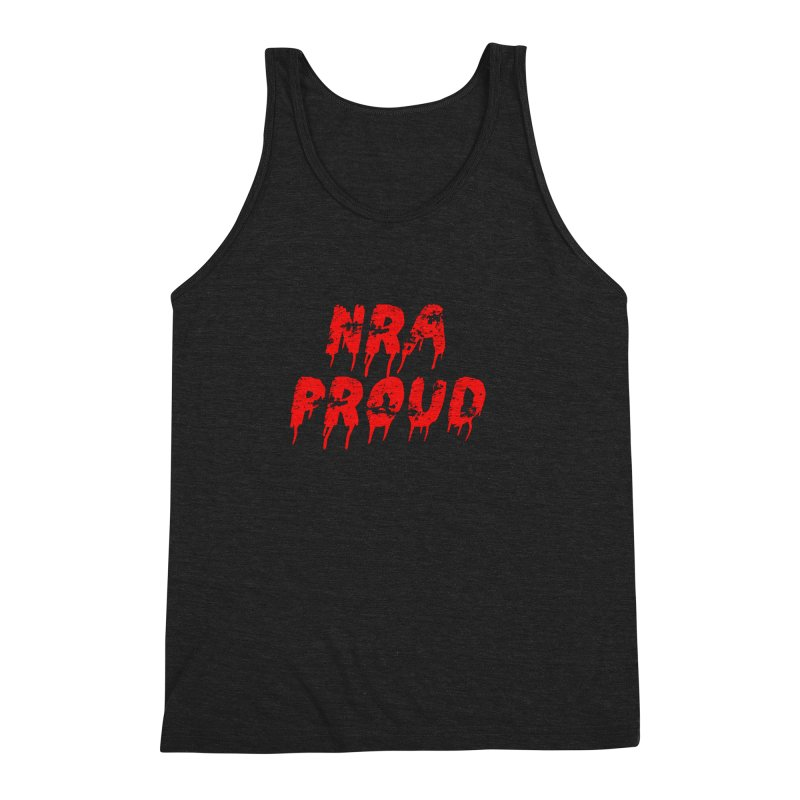 N.R.A. Proud Men's Triblend Tank by The David Feldman Show Official Merch Store