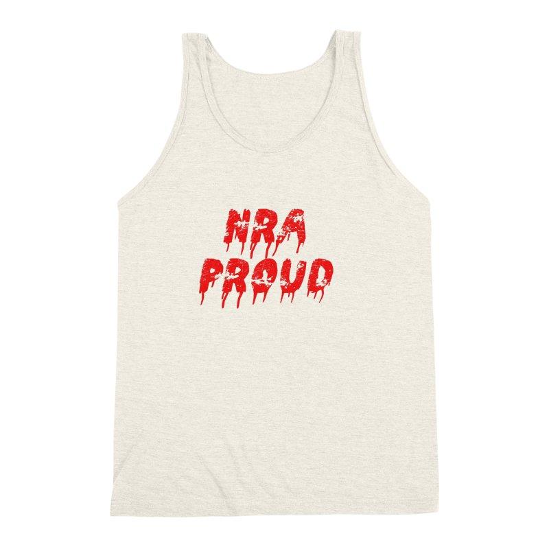 N.R.A. Proud Men's Triblend Tank by The David Feldman Show Official Merch Store