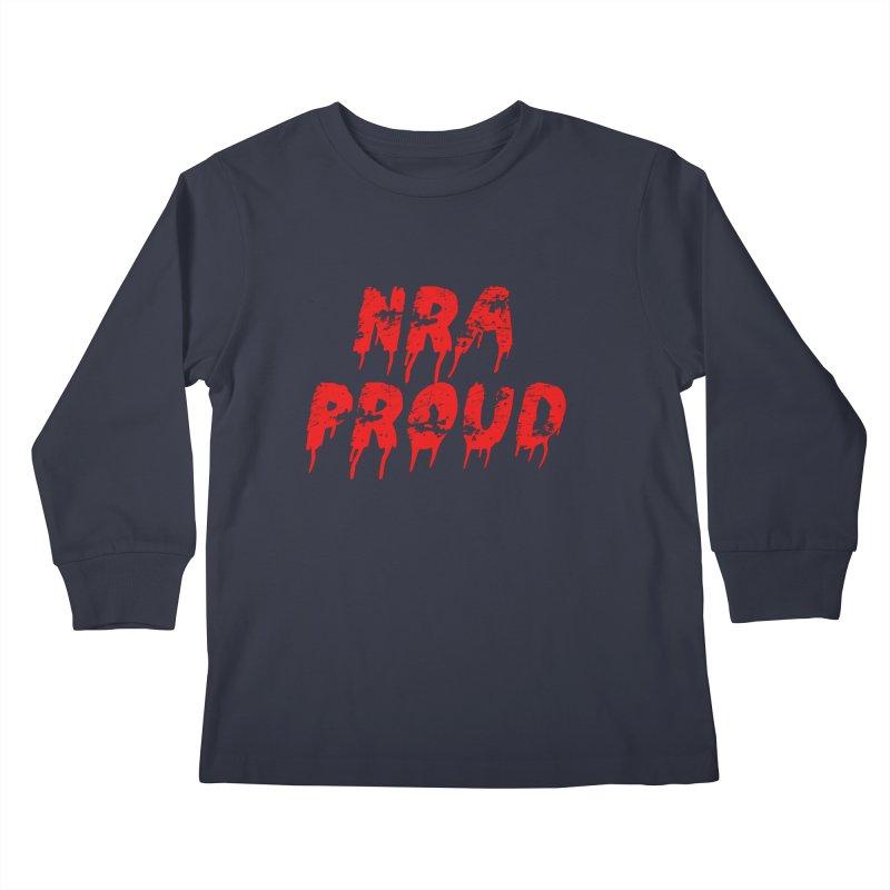 N.R.A. Proud Kids Longsleeve T-Shirt by The David Feldman Show Official Merch Store