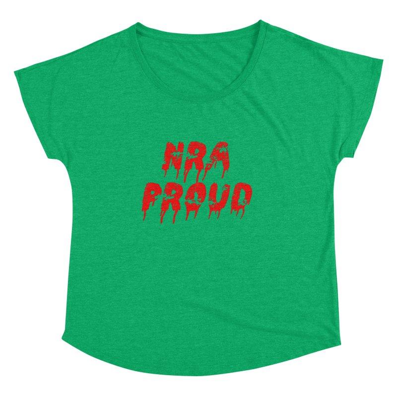 N.R.A. Proud Women's Scoop Neck by The David Feldman Show Official Merch Store