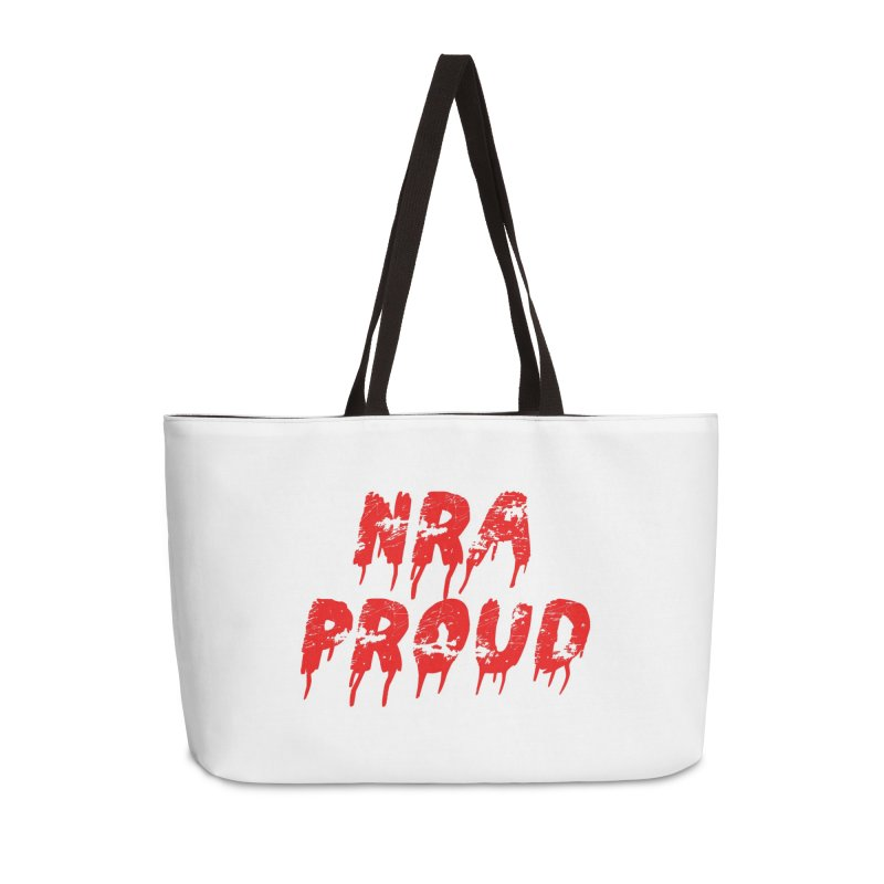 N.R.A. Proud Accessories Weekender Bag Bag by The David Feldman Show Official Merch Store