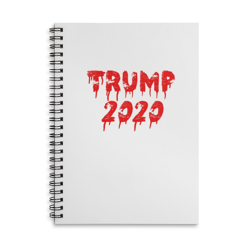 Trump 2020 Accessories Lined Spiral Notebook by The David Feldman Show Official Merch Store