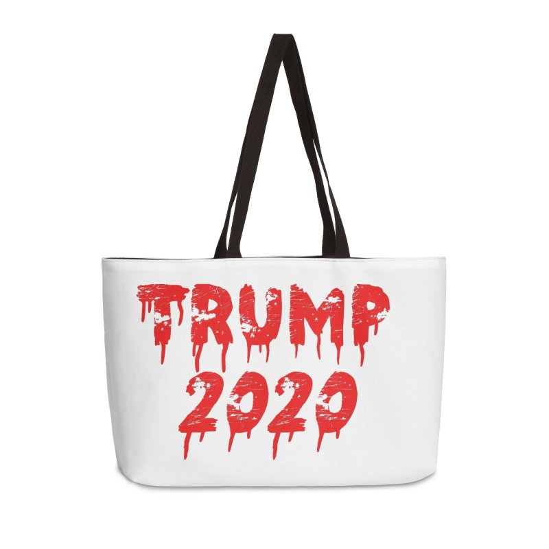 Trump 2020 Accessories Weekender Bag Bag by The David Feldman Show Official Merch Store