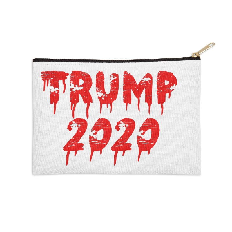 Trump 2020 Accessories Zip Pouch by The David Feldman Show Official Merch Store