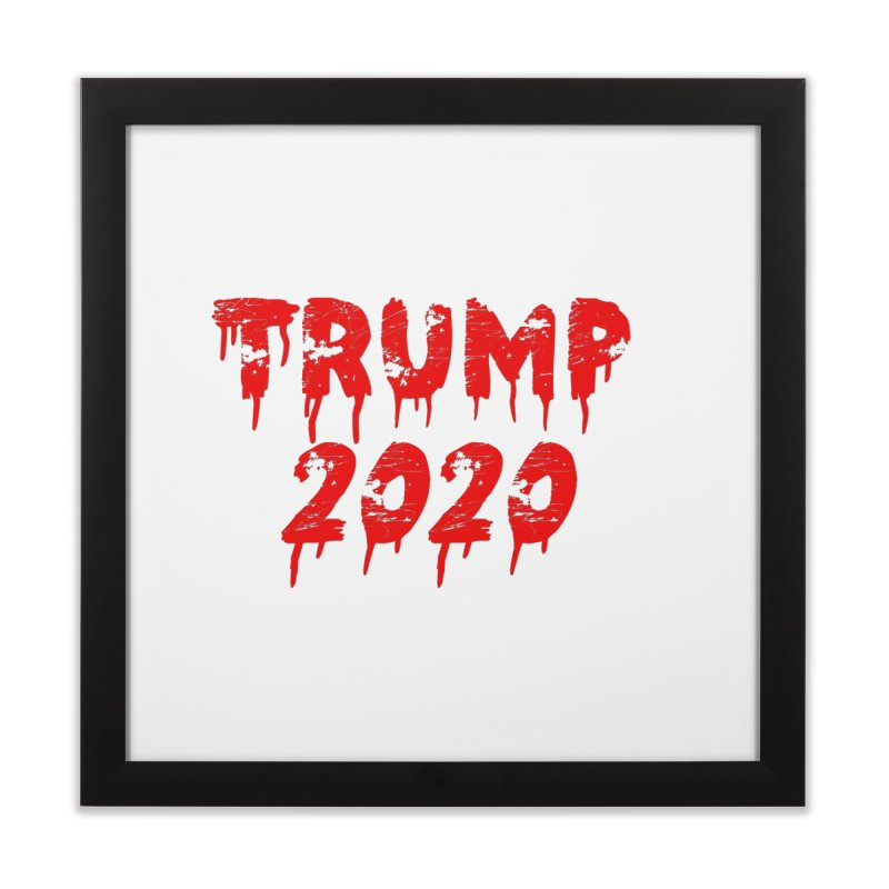 Trump 2020 Home Framed Fine Art Print by The David Feldman Show Official Merch Store