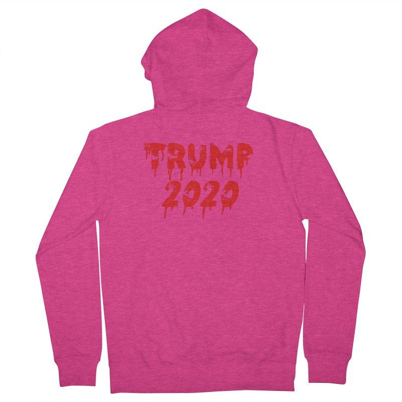 Trump 2020 Women's Zip-Up Hoody by The David Feldman Show Official Merch Store