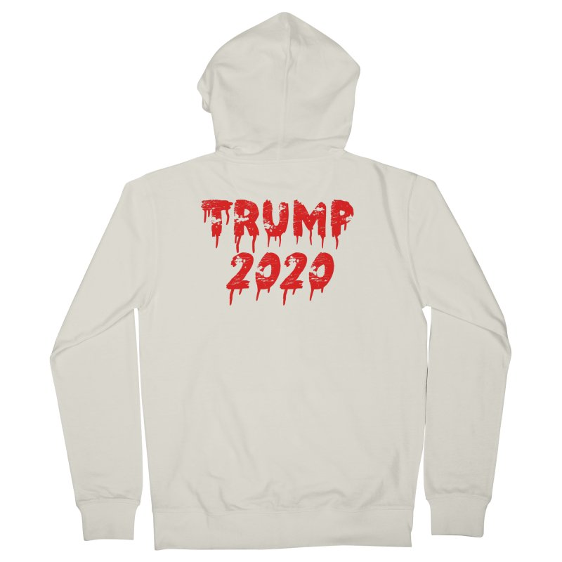 Trump 2020 Women's French Terry Zip-Up Hoody by The David Feldman Show Official Merch Store