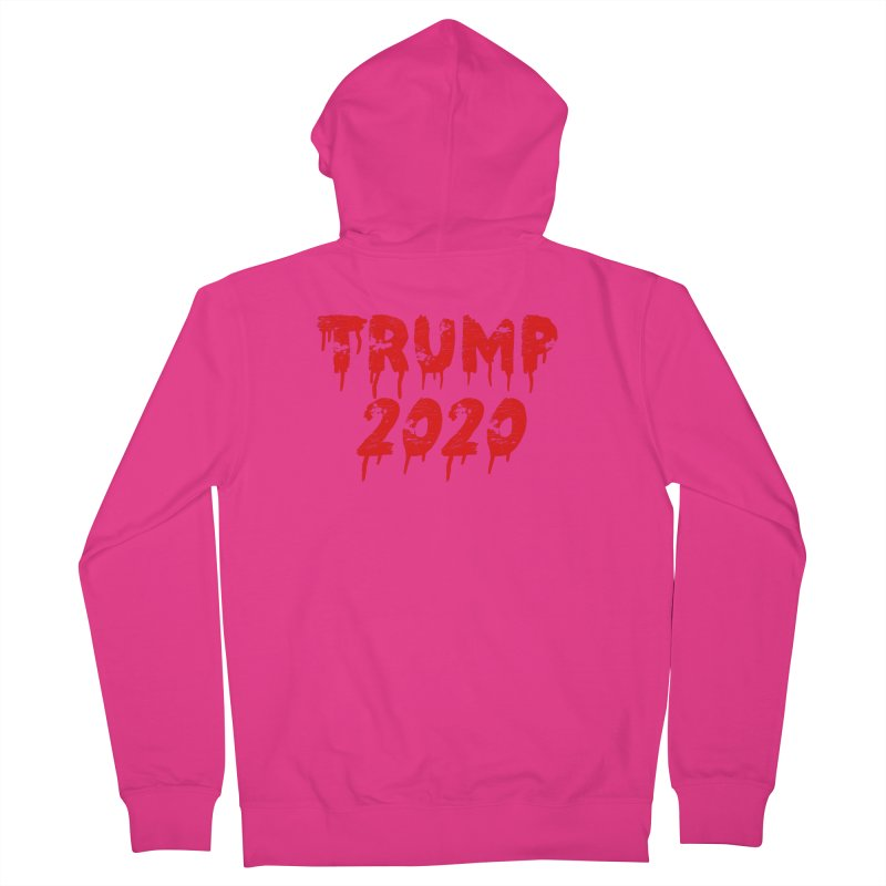 Trump 2020 Men's French Terry Zip-Up Hoody by The David Feldman Show Official Merch Store