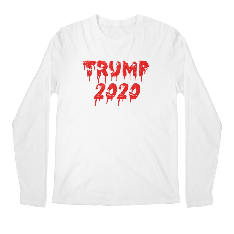 Trump 2020 Men's Regular Longsleeve T-Shirt by The David Feldman Show Official Merch Store