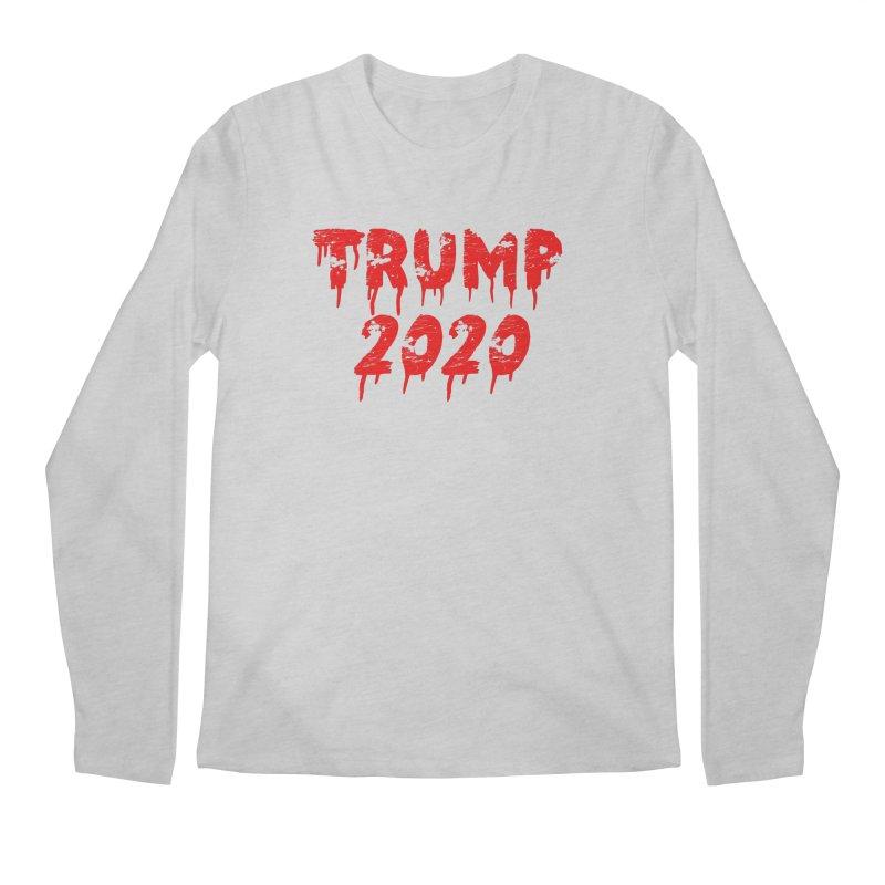 Trump 2020 Men's Regular Longsleeve T-Shirt by The David Feldman Show Official Merch Store