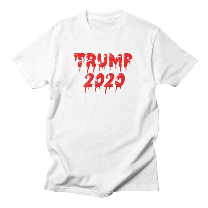 Trump 2020 Women's Regular Unisex T-Shirt by The David Feldman Show Official Merch Store