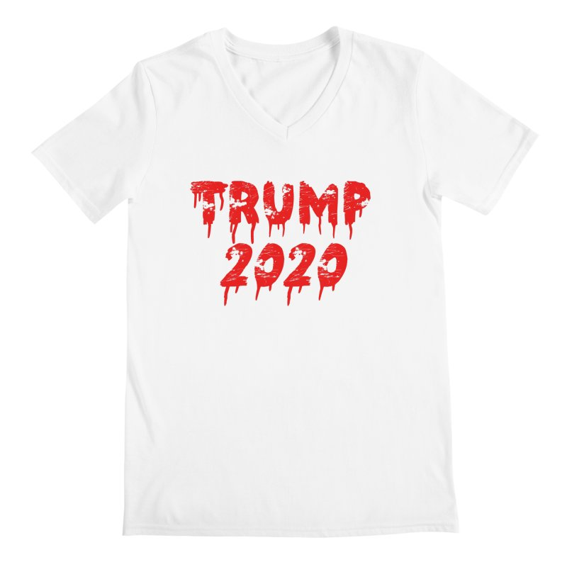 Trump 2020 Men's Regular V-Neck by The David Feldman Show Official Merch Store